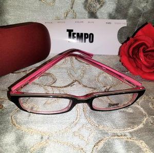 NWT 💖 Tempo RX Pink Eyeglasses
